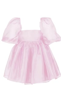 Selkie Pink Puff Mini Dress Preview Images