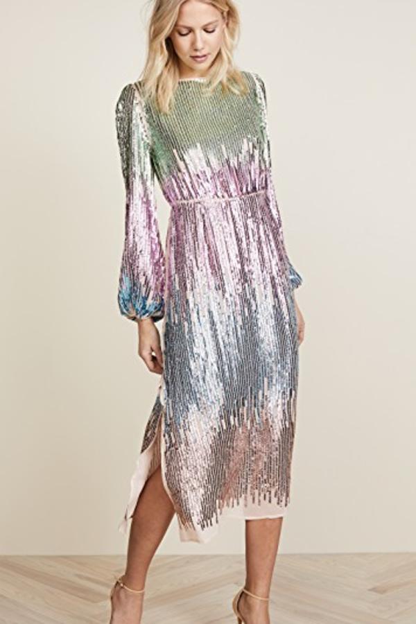 RIXO London The Coco Constellation Rainbow Sequin 2