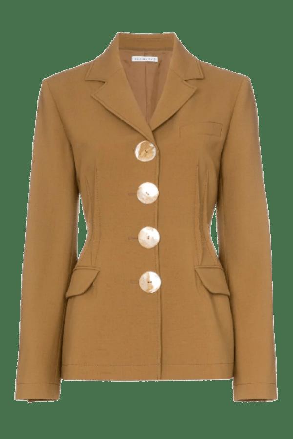 Image 1 of Rejina Pyo etta wool-blend blazer