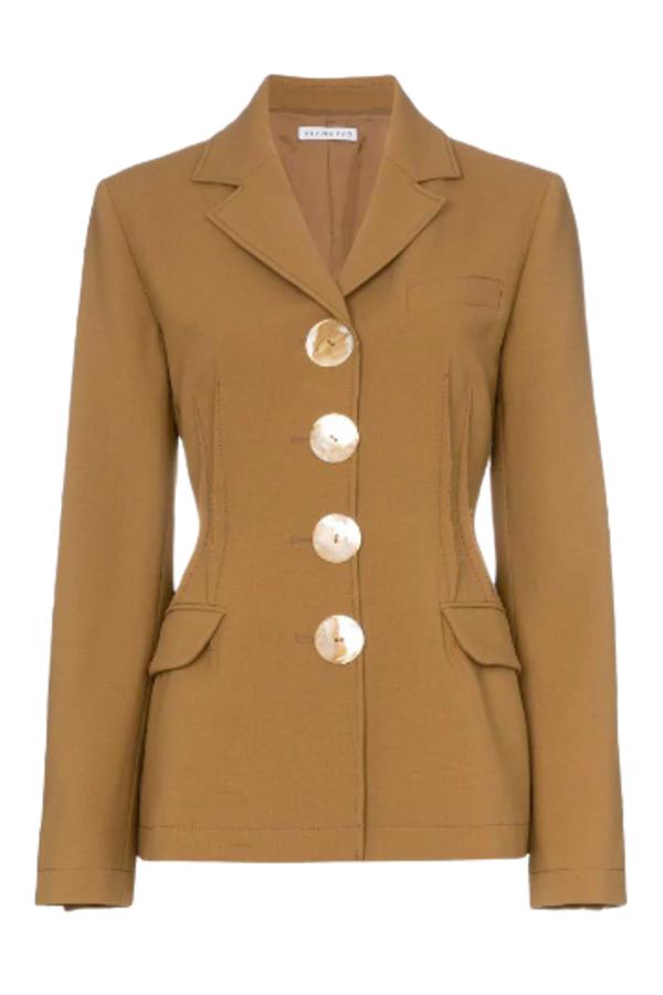 Rejina Pyo Etta wool-blend blazer