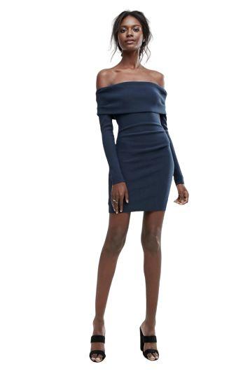 Bec & Bridge Off-Shoulder Mini Dress Preview Images