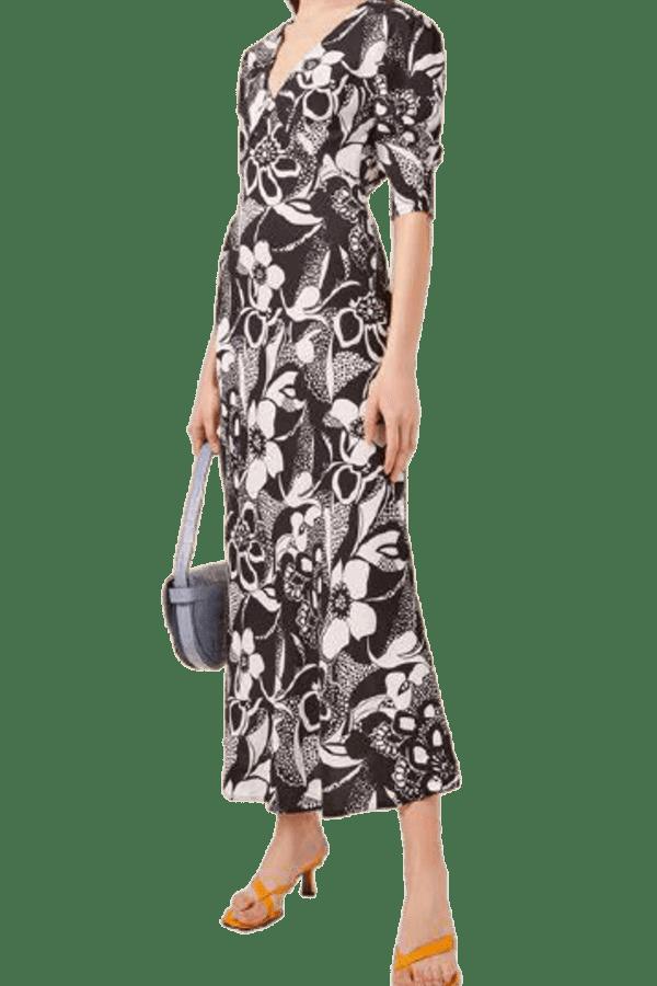 Image 2 of Rixo zadie floral dress