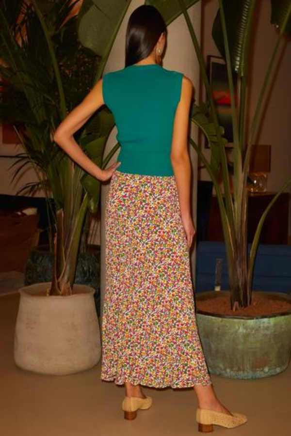 RIXO KELLY - RETRO MICRO FLORAL 4 Preview Images