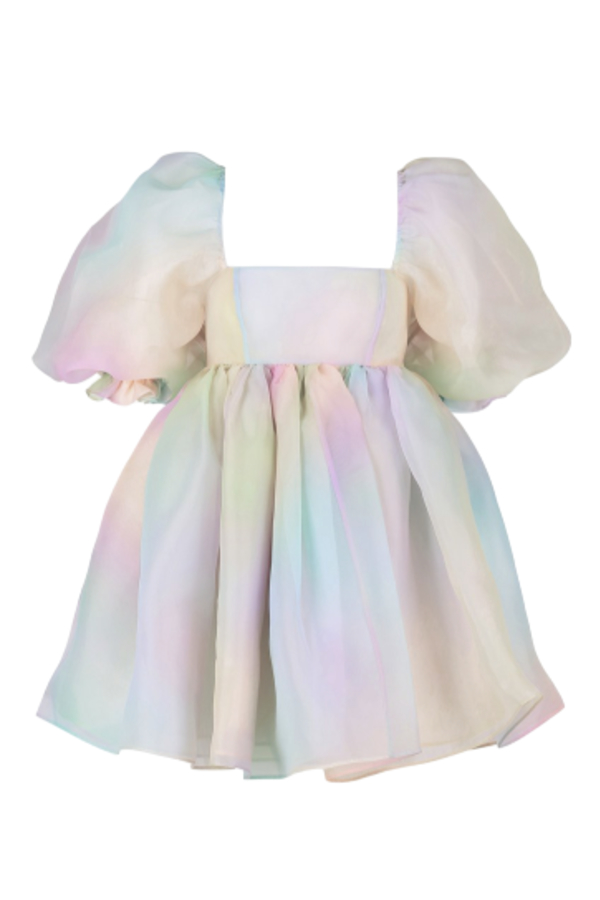 Selkie The Rainbow Puff Dress 2