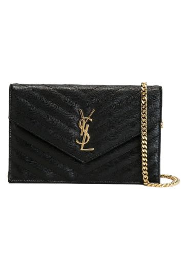 Saint Laurent Monogram leather crossbody bag