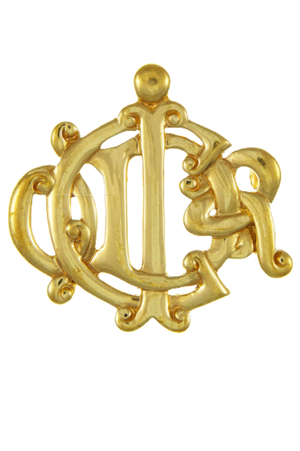 Christian Dior Gold Brooch 0 Preview Images