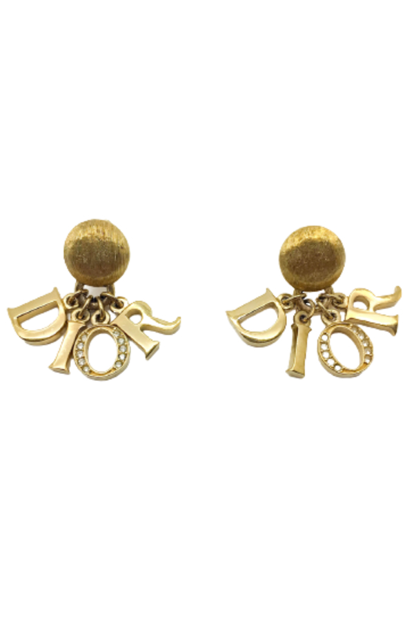 Dior DIOR Letters Clip on Earrings 0 Preview Images