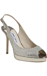 Jimmy Choo Nova Glitter Platform Sandal Preview Images