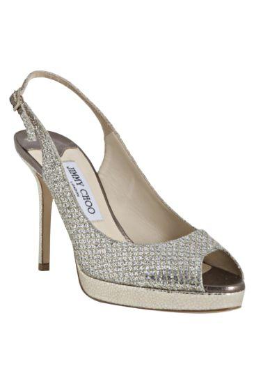 Jimmy Choo Nova Glitter Platform Sandal Preview Images