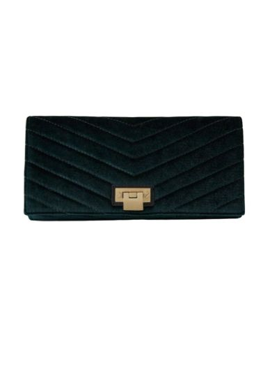 Reiss Velvet Audley Clutch Preview Images