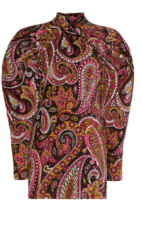 ROTATE BIRGER CHRISTENSEN - PAISLEY PRINT MINI DRESS