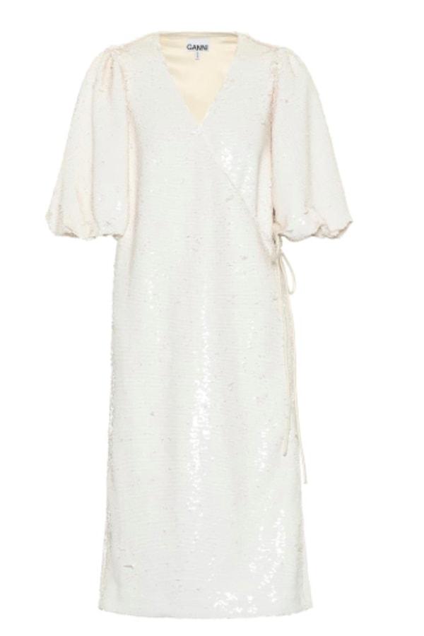 Image 1 of Ganni sonora sequin dress