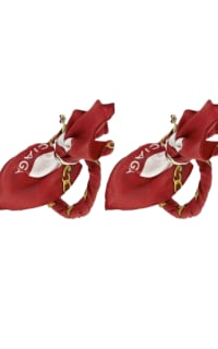 Balenciaga Ribbon Earring Preview Images