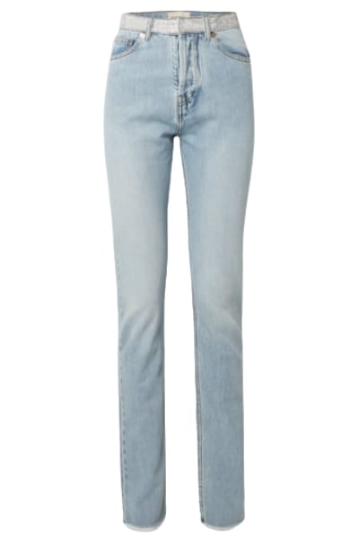 alexandre vauthier crystal jeans