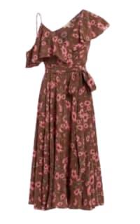 Michael Kors Floral midi dress Preview Images