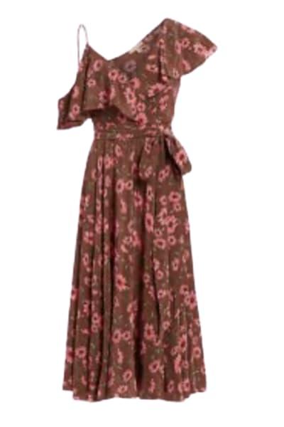 Michael Kors Floral midi dress