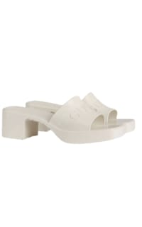 Gucci Women's rubber slide sandal Preview Images