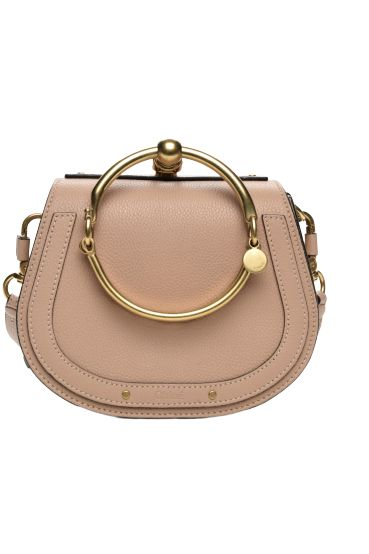 Chloé Small Nile Biscotti Beige Bag Preview Images