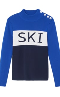 Tory Burch Merino wool ski jumper  Preview Images
