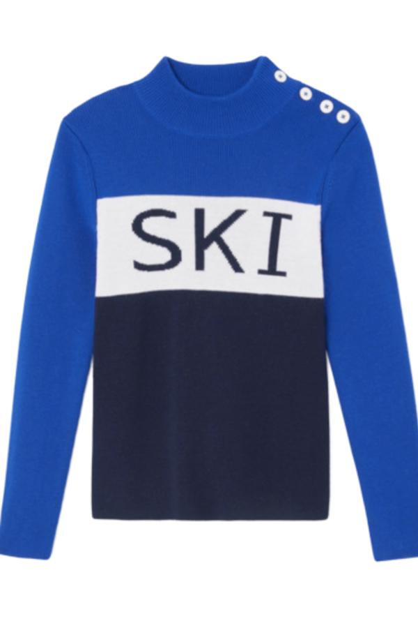 Tory Burch Merino wool ski jumper