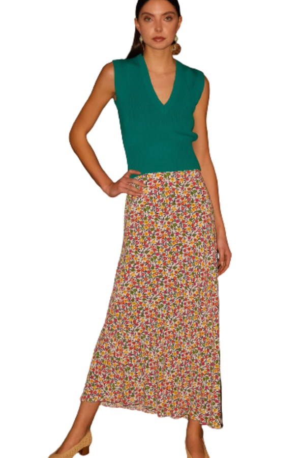RIXO Kelly Retro Skirt 1 Preview Images