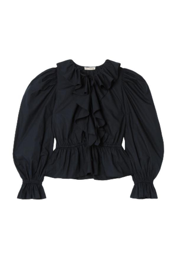 Image 1 of Ulla Johnson kalila ruffled blouse