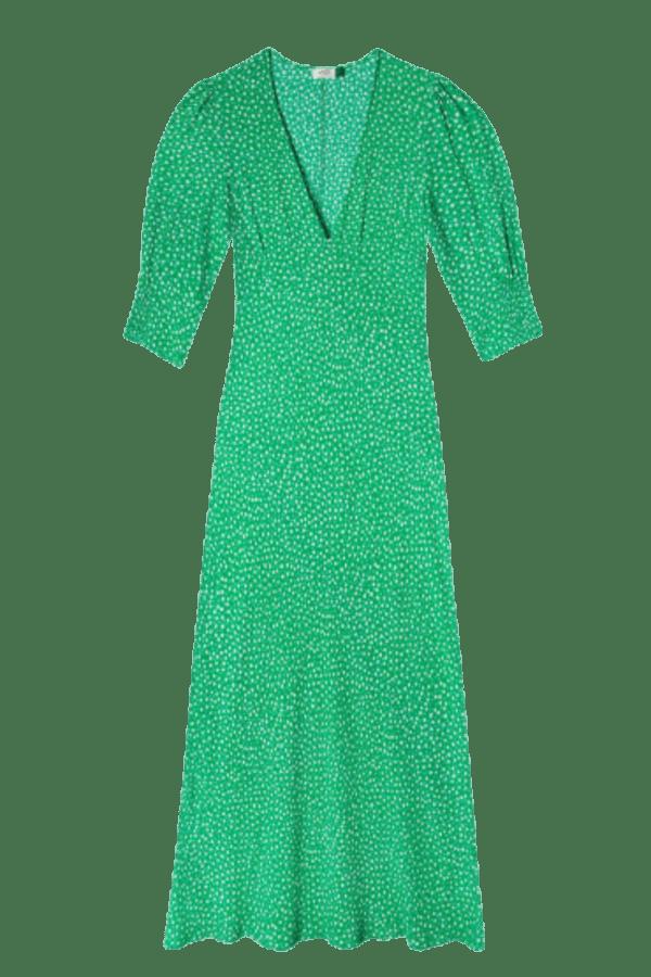 Image 1 of Rixo zadie retro micro floral dress
