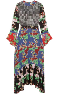 RIXO London The Chrissy Multi-Print Dress Preview Images
