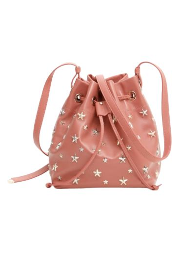 Jimmy Choo Juno Star Studded Bucket Bag Preview Images