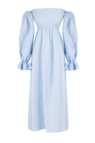 Sleeper Atlanta Dress in Azure Blue