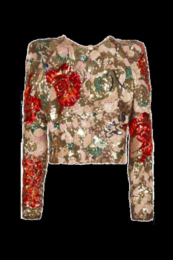 Image 1 of Stella Mc Cartney sequin cropped jacket