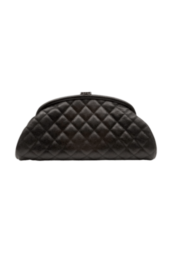 Image 1 of Chanel half moon clutch
