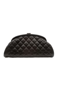 Chanel Half Moon Clutch Preview Images