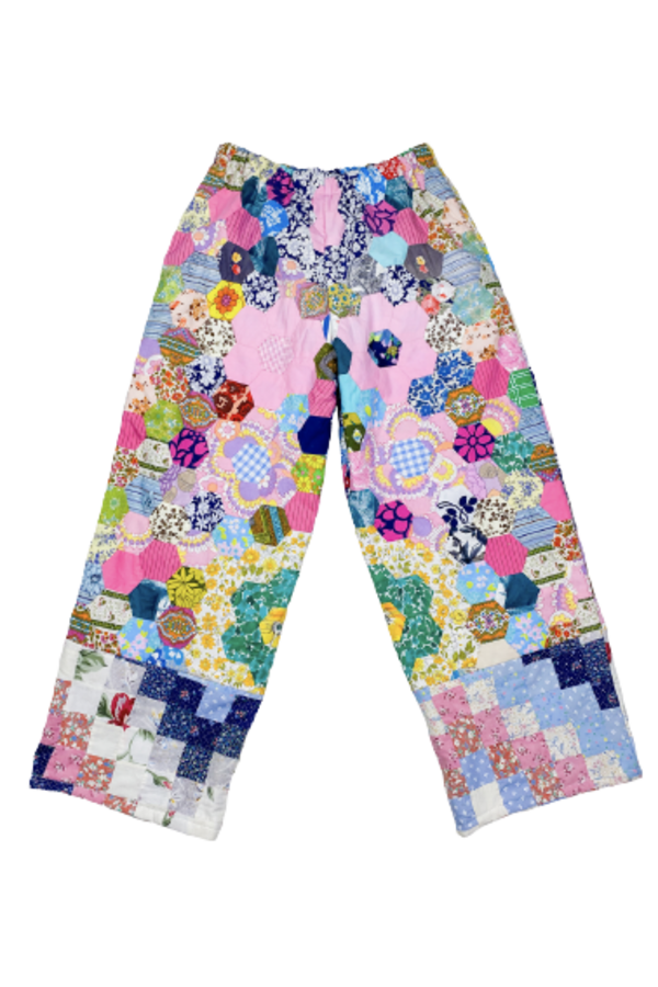 Image 1 of Magpie Vintage 1970's patchwork trousers