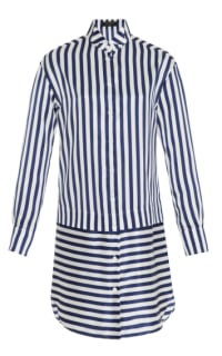 Burberry Stripped Shirt Dress Preview Images