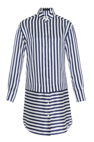 Burberry Stripped Shirt Dress