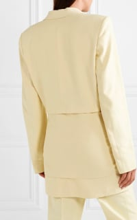 Tibi Yellow Suit 2 Preview Images