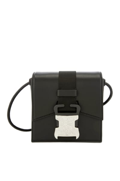Christopher Kane Crystal Buckle Cross-Body Bag