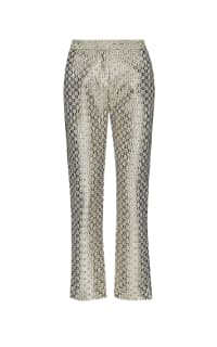 MAJE - STRAIGHT HIGH-RISE TROUSERS