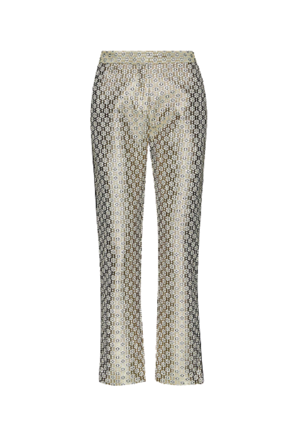 Maje Straight high-rise trousers