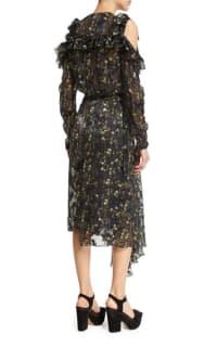 Preen by Thornton Bregazzi Alberta Floral Midi Dress 2 Preview Images
