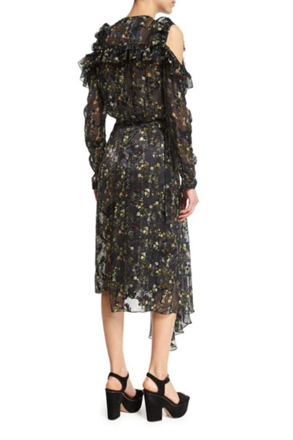Preen by Thornton Bregazzi Alberta Floral Midi Dress 2