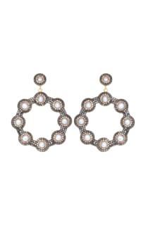 SORU Baroque Pearl Hoop Earrings Preview Images