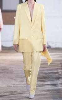 Tibi Yellow Suit 3 Preview Images
