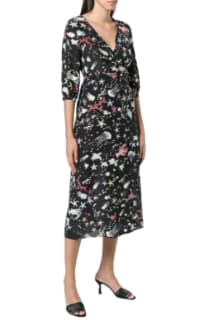 RIXO London Phoebe Under The Sea Midi Dress 3 Preview Images