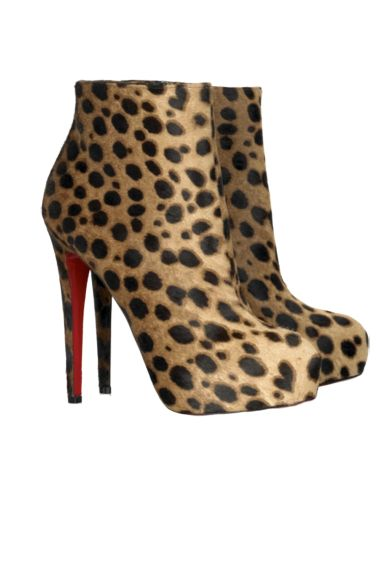 Christian Louboutin Leopard boots Preview Images
