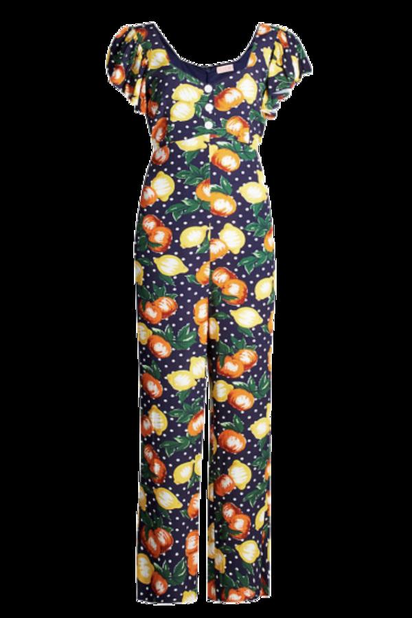 Image 1 of Kitri lemon jumpsuit