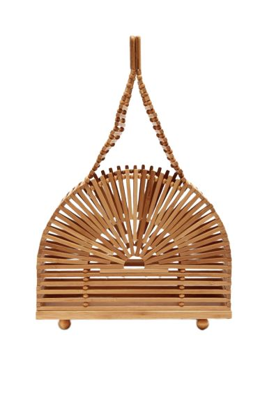 Cult Gaia Cupola dome mini bamboo bag Preview Images