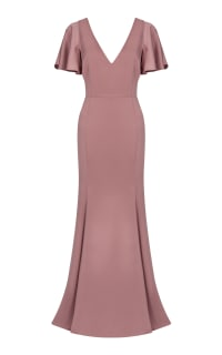 TH&TH Celeste Crepe Luxe Dress Preview Images