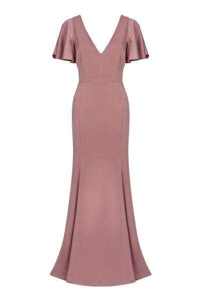 TH&TH Celeste Crepe Luxe Dress
